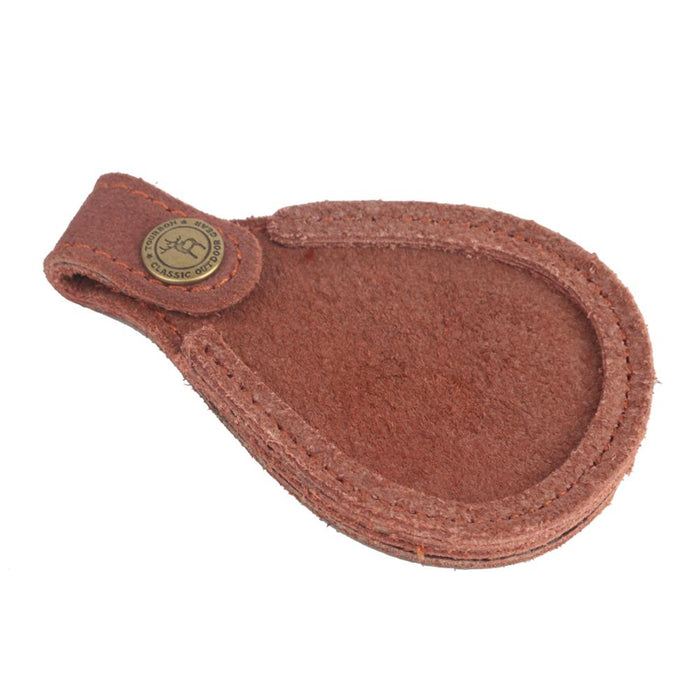 Hunting Gun Accessories Vintage Rifle Gun Shooting Leather Toe Pad Barrel Rest Durable Shotgun Hunting Toe Protector