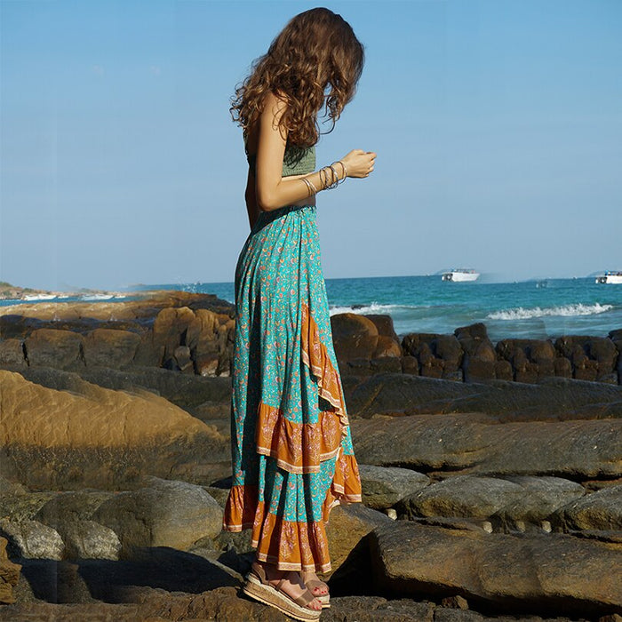 Bohemia Pleated Skirt