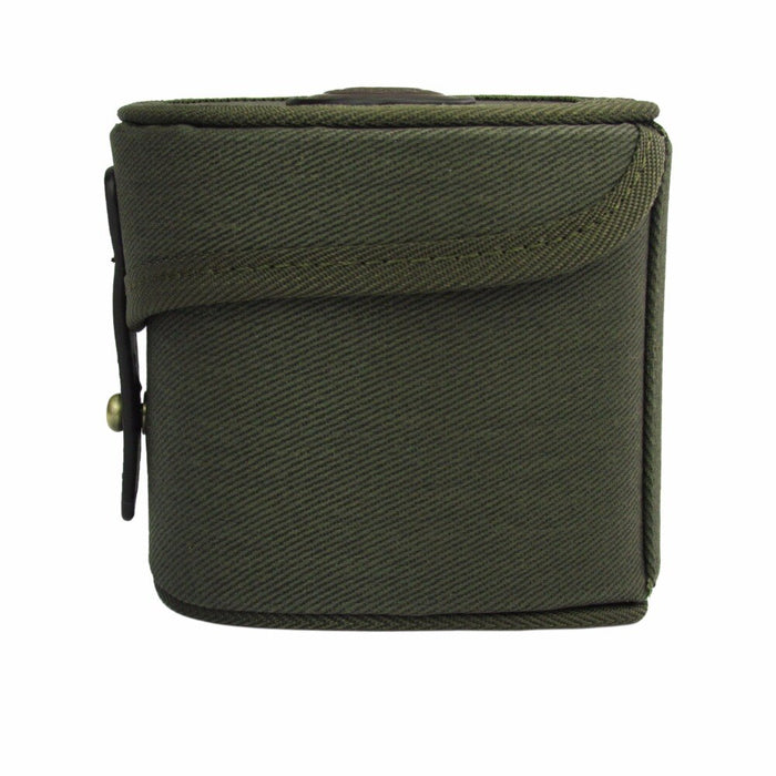 Canvas Fly Fishing Reel Storage Case Large Capacity Durable Reel Shaft Protective Box Wholesale