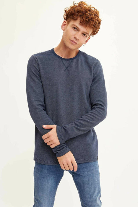 Man Crewneck Loose Pullovers