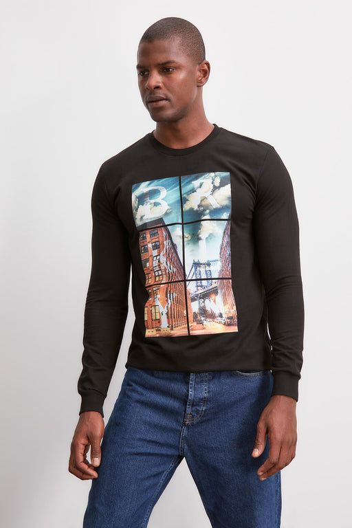Men's Printed Sweatshirts