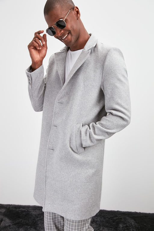 Male Button Coat