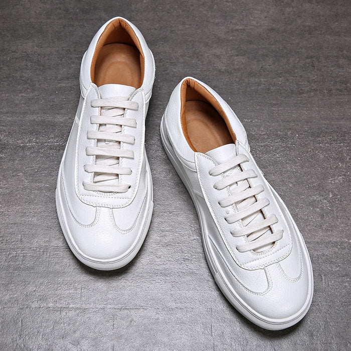 Spring/ Summer White Men Casual Shoes