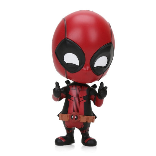 Mini 10 cm Marvel Toys Dead Pool Bobble-Head