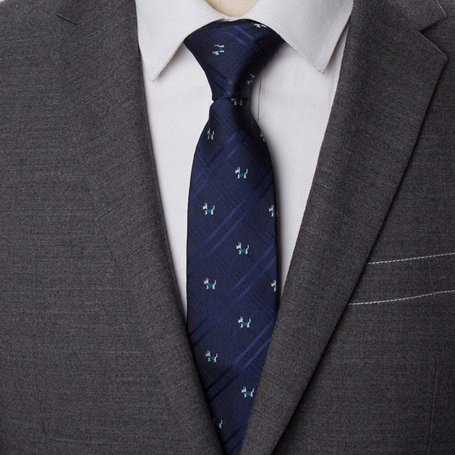 Men Ties Striped