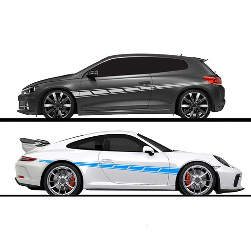 2pcs/lot 300x14cm Both Sides Car Wrap Vinyl Film