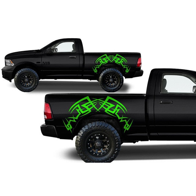 2Pcs/lot Car Vinyl Stickers  For Ford RANGER Raptor F150 F250 F350 F450 F550 F650