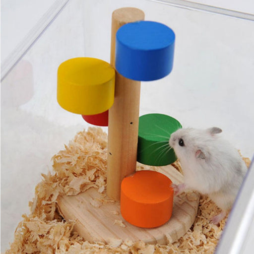 Creative Hamster Jumping Ladder