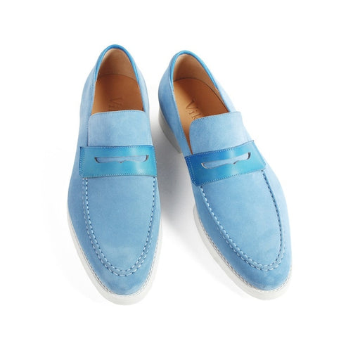 Suede Men's Loafers