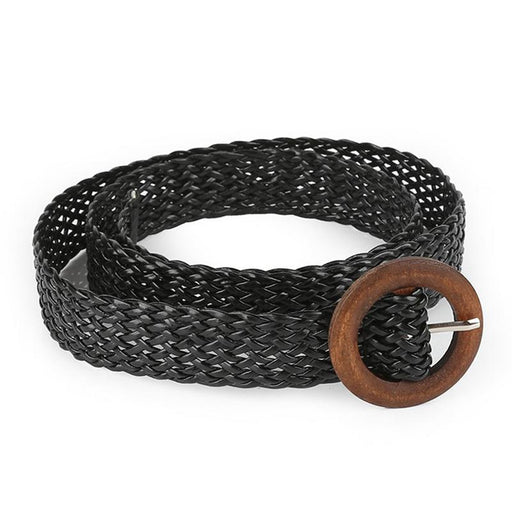 Hollow Woven Women Belt