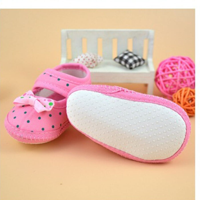 Butterfly Knot Baby Shoes