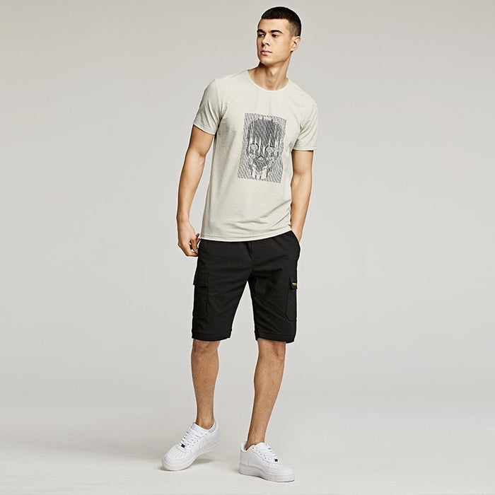 Summer Men T Shirt -Skull Print