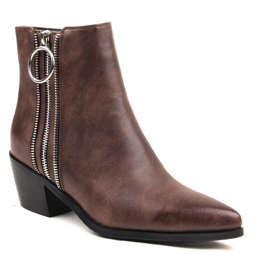 Pointed Toe Square Heel Cowboy Boots For Women