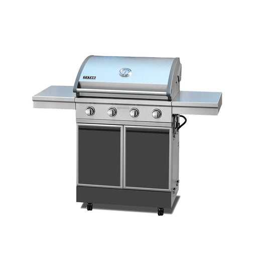 TYTUS Charcoal Grey/Stainless Steel 4 Burner Free Standing Grill