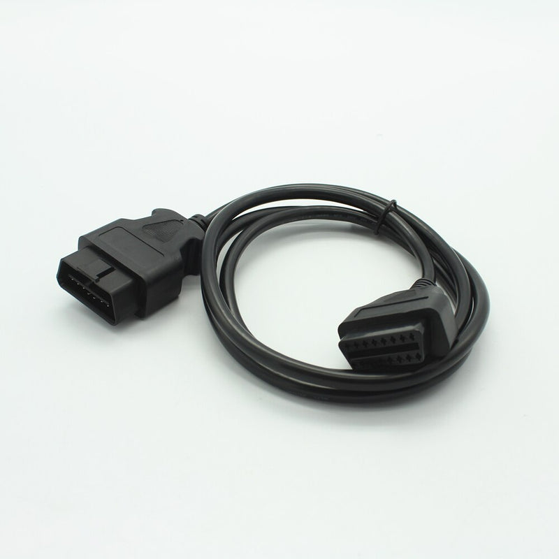 16Pin Male to Female ELM327 OBD II OBD2 Extension Connector Cable 1.5M