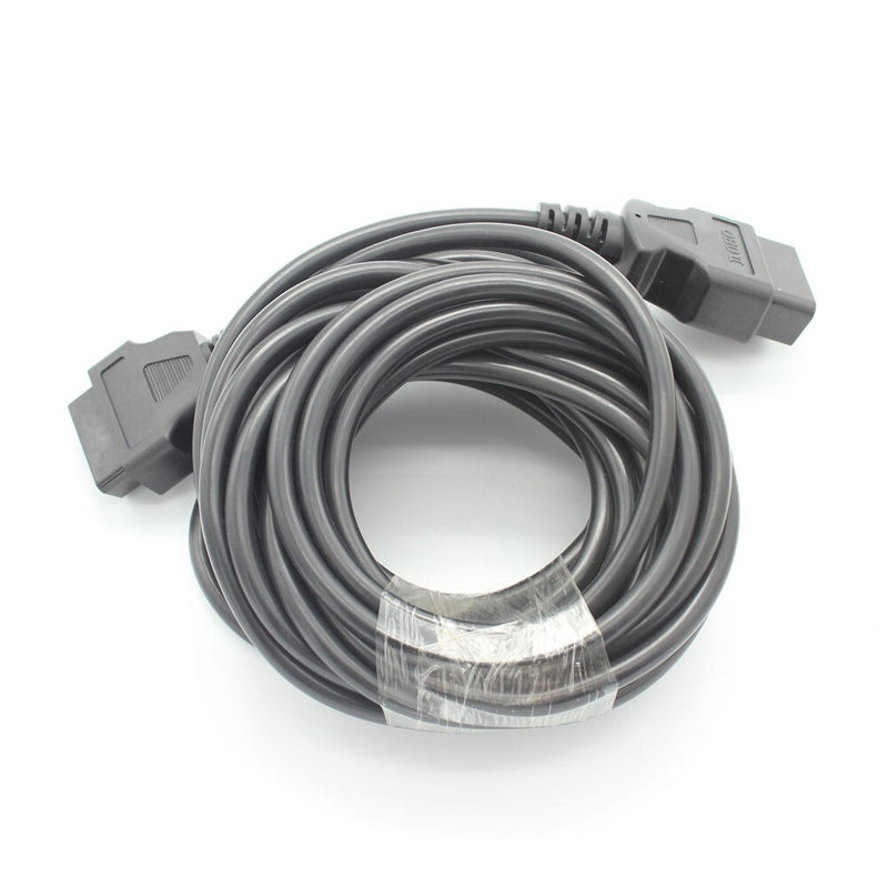10 Meter OBD2 16PIN Male to Female Extension Diagnostic Tool Connector Cable obd ii 16 pin Cable / Car Cable for Adapter Cable