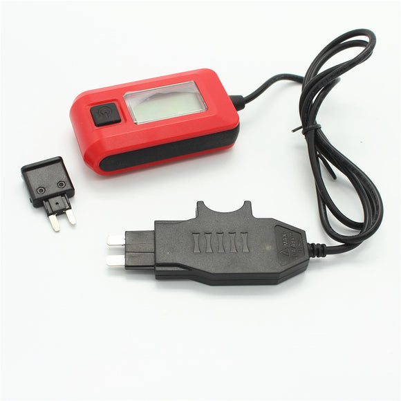 12V AE150 Car Auto Current Tester Multimeter Lamp Car Repair Tool By Fuse Diagnostic Tool 12V 23A Measurement Range 0.01A~19.99A