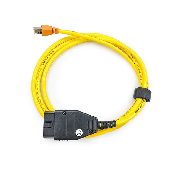 Car Diagnostic Cable Data Cable for BMW ENET Ethernet to OBD Interface Cable E-SYS ICOM Coding F-Series ESYS 3.23.4 V50.3