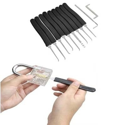 Extractor Remover Cutaway Lock Pick Practice Picking Training Tools for Locksmith