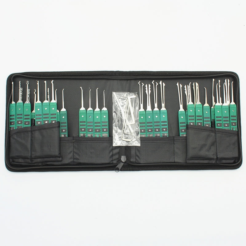 32 Pieces Klom Lock Pick Hook Tools Set Lock Opener Locksmith Tool