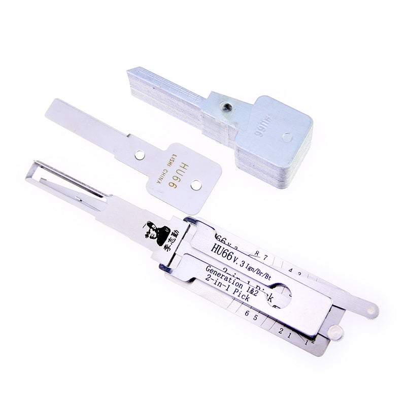 Lishi 2 in 1 HU66 v.3 Lock Pick and Decoder Lock Pick Auto Locksmith Tools