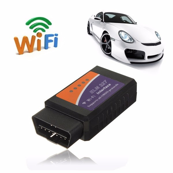 ELM327 WIFI Wireless OBD2 Car Diagnostic Scanner OBDII Engine Code Reader Scan Tool