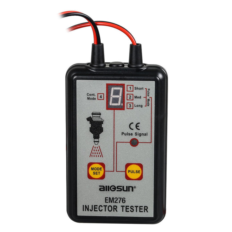 ALL SUN EM276 Professional Injector Tester Fuel Injector 4 Pluse Modes Tester Powerful Fuel System Scan Tool