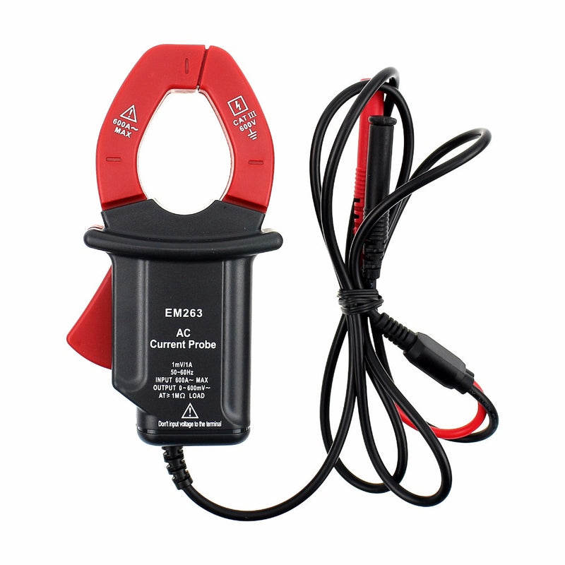 ALL SUN EM263 Compact Current Probe Clamp With Multimeter Digital Clamp Meter Frequency Volt  Output  Electrical Instruments