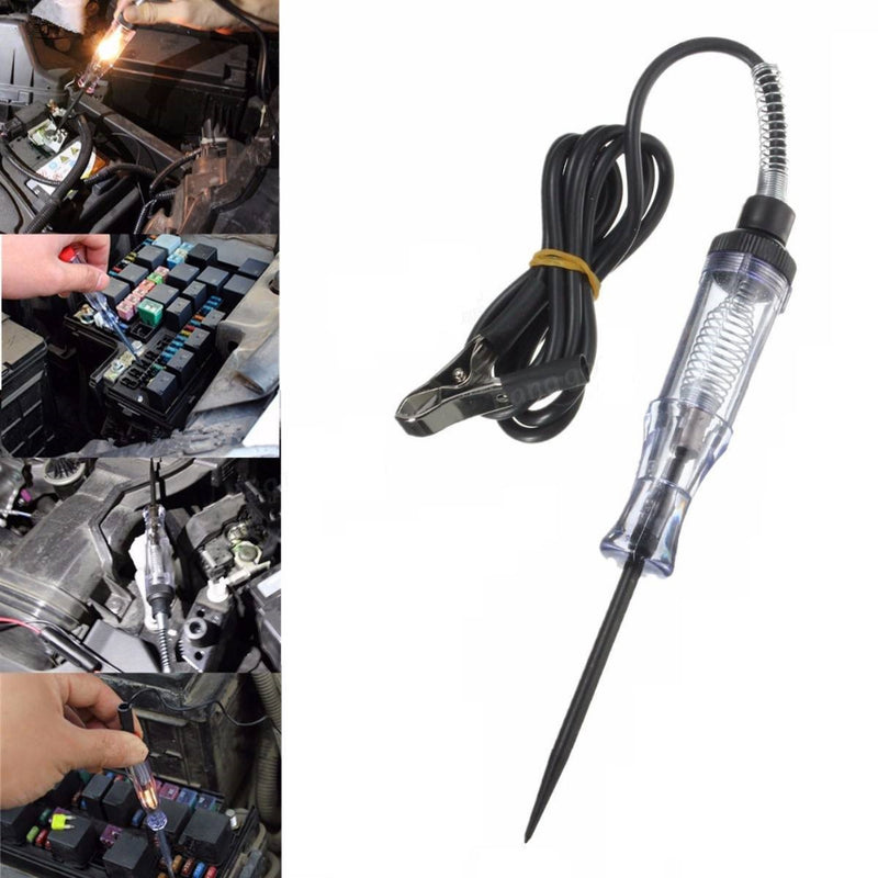 Auto Car Voltage Tester Electrical Test Pen Pencil Car Motorcycle Circuit Detection Repair Tools Voltage Meter 6V-24V