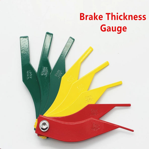 Automobile Specialized Tools Brake Pad Brake System Detection Tools Brake Pads Scale Brake Thickness Gauge