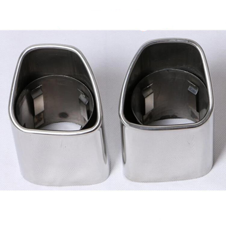 Car Accessories Exhaust Tip Stainless Steel Auto Exhaust Pipe Muffler Tip Car Tail Pipe Fit For VOLVO XC90 XC60 Pipe