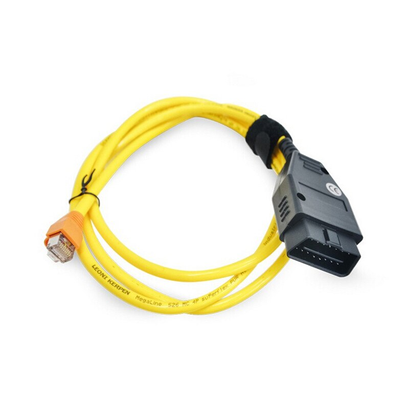 For BMW ENET Ethernet to OBD Interface Data Cable E-SYS ICOM Coding F-Series ESYS 3.23.4 V50.3