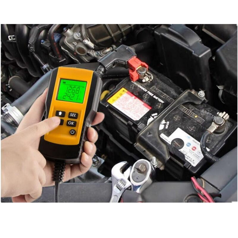 Digital Car Battery Auto System Analyzer AE300 12V LCD Automotive Vehicle Battery Voltage ohm Tester Diagnostic Tool