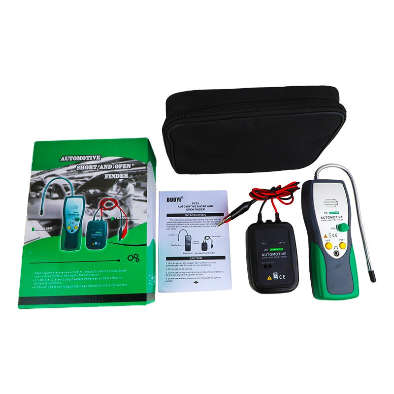 DY25 Automotive Short&Open Circuit Finder Tester Cable Tracker Repair Tool Tester Car Tracer Diagnose Tone Line Finder