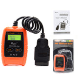 Vgate VC310 OBD2 OBDII EOBD CAN Auto Scanner Code Reader & Cleaner Car Diagnostic Tool VC 310 Error Scanner