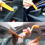 Auto Car Radio Door Clip Panel Trim Dash Audio Removal Tool Installer Pry Tools Hand Tool for Car Stereo Installation Kits