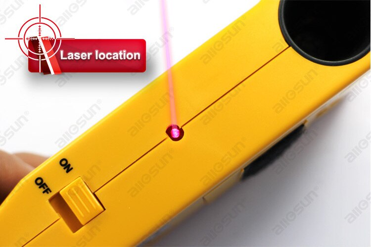 ALL SUN TS99 4 In 1 Super Detector Ultrasonic Household Detector Stud/Metal/Voltage/Distance Laser AC Wires Metal Detector