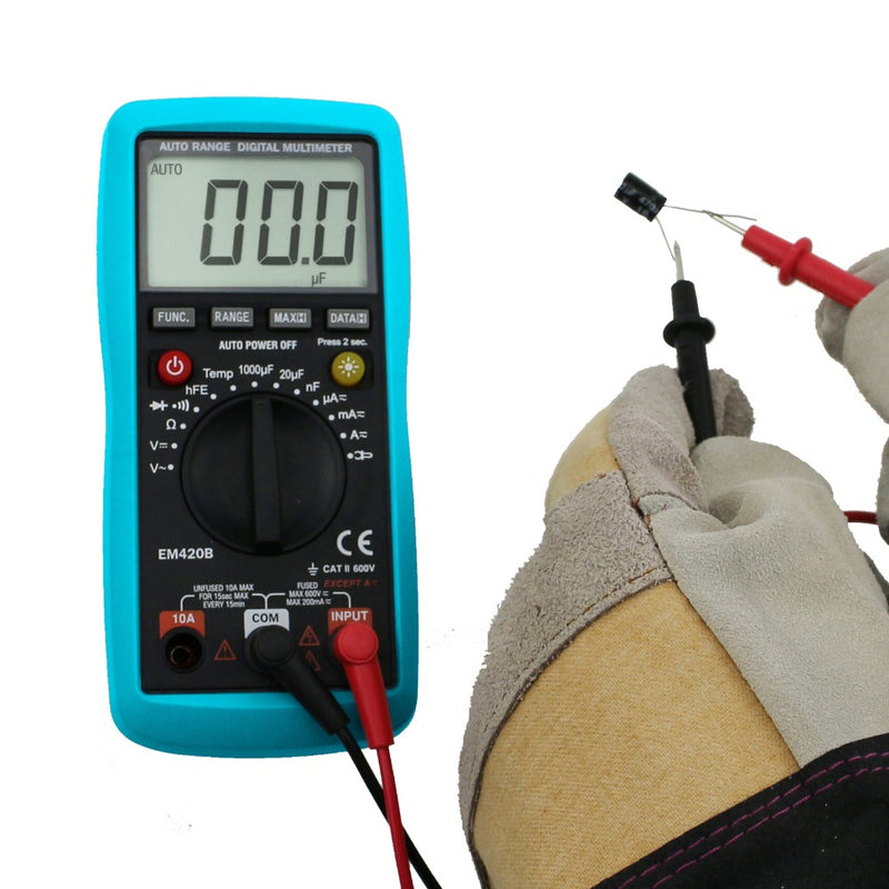 All-Sun EM420B Digital Multimeter Diode Transistor Battery Tester AC/DC Ammeter Voltmeter Ohm Voltage Meter