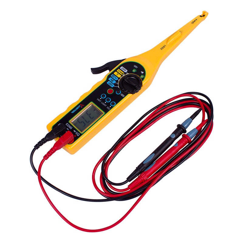 Auto Circuit Tester Multimeter Lamp Car Repair Tool Automotive Electrical Digital Multimeter 0V-380V