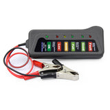12V Digital Battery Tester For Car Motorcycle LED Digital Battery Alternator Tester 6 LED Display Indicate