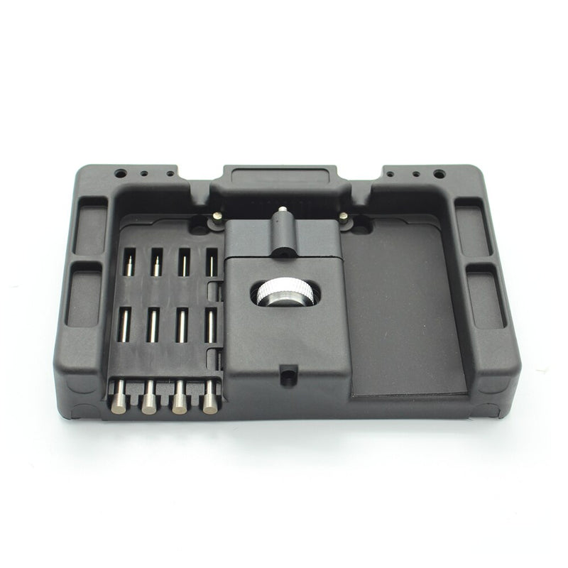 HUK 4Pcs Pin Cars Remote Control Flip Key Fixing Tool Key Vice Repairing Tools Kits With Fetch Case