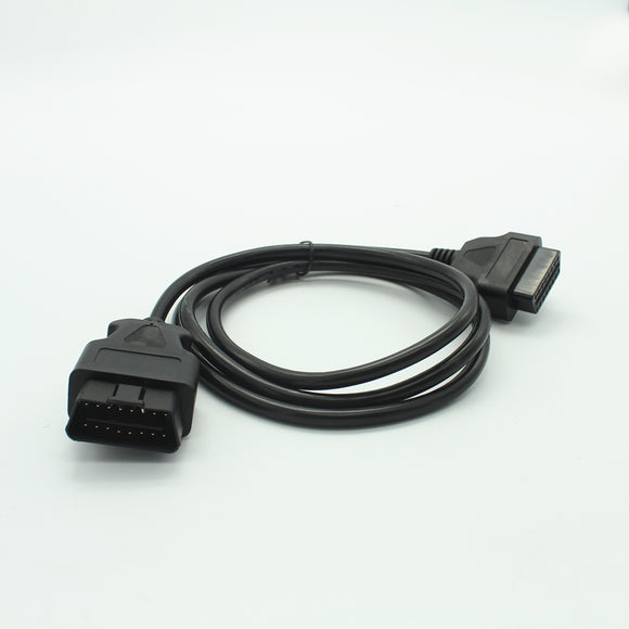 1.5M 16Pin Male to Female ELM327 OBD II OBD2 Extension Cable Connector Auto Car Diagnostic Tool Adapter Cable