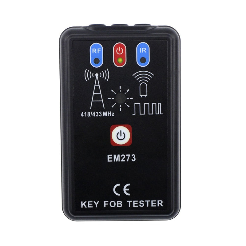 EM273 LED Key Fob Frequency Tester Checker Finder Wireless Radio Frequency Remote Control