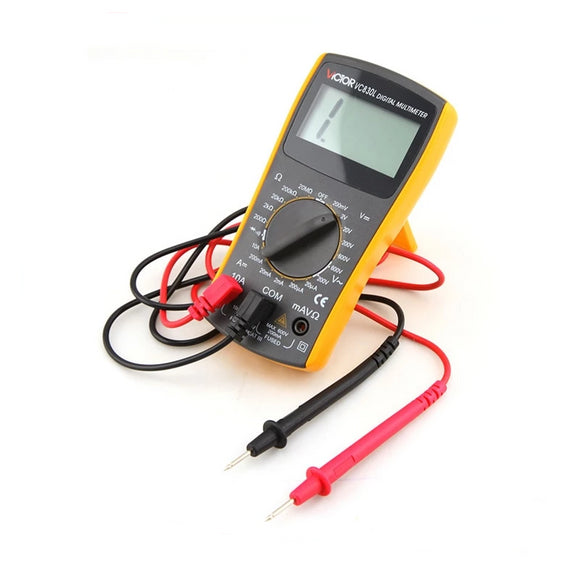 Mini Pocket Simple 2000 Counts Manual Range 10A 600V Resistance Students Use Teaching USE Digital Multimeter VC830L