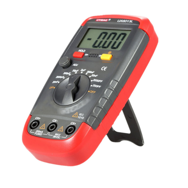 Capacitance Meter UA6013L Auto Range Digital LCD Capacitor Test Multimeter Measurement Tester Meter