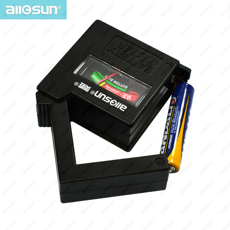 All-SUN BT1A Battery Tester Fuse Tester Practical Household Battery Tester Cell Tester