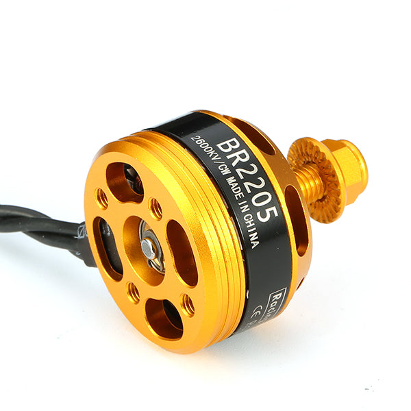 Racerstar Racing Edition 2205 BR2205 2600KV 2-4S Brushless Motor Yellow for 220 250 280 RC Drone FPV Racing