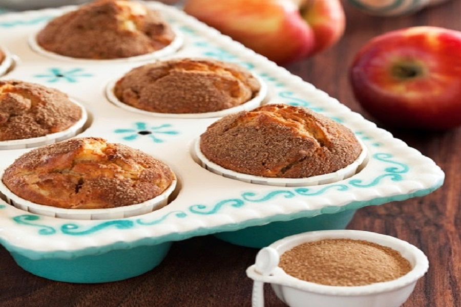 Autumn Apple Muffins - back-to-nature-usa
