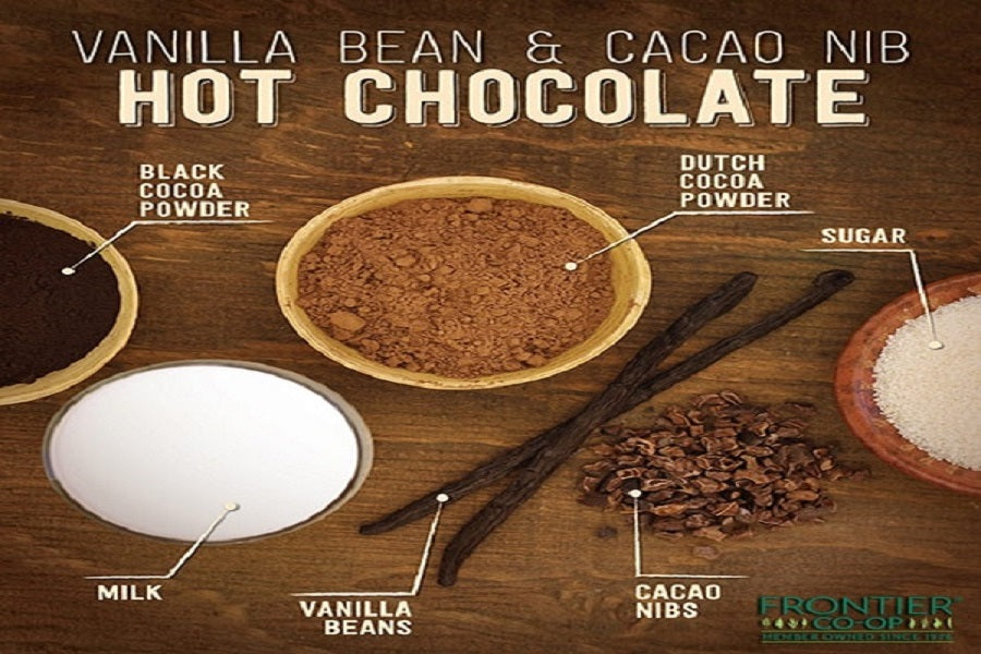 Vanilla Bean-Infused Cacao Nib Hot Chocolate - back-to-nature-usa