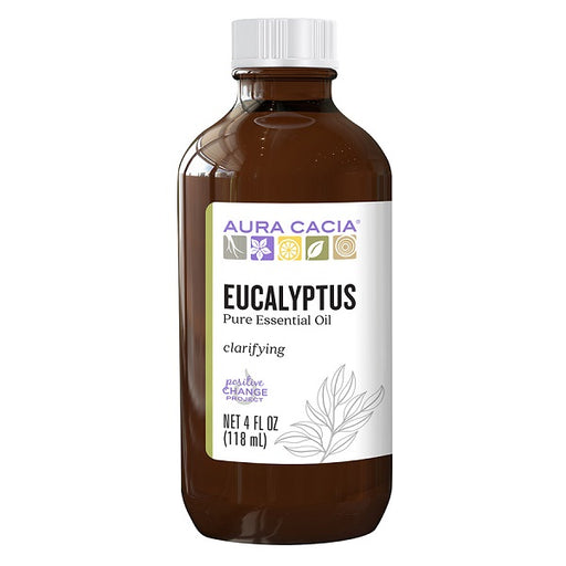 Eucalyptus (Pure Essential Oil) - (4.00 fl. oz. Bottle) - back-to-nature-usa